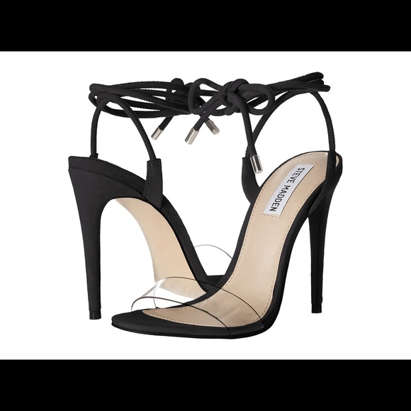 7c666c377f3 Steve Madden Lyla cleat lace up heels black